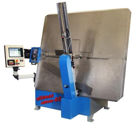umw series-2 axis wire forming and welding machines